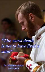 Fr. Matthew Baker